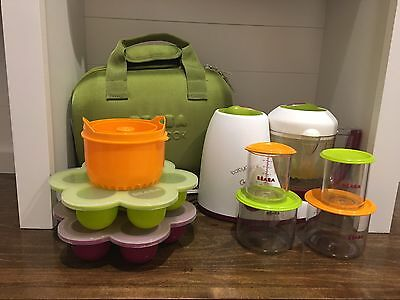 Beaba Babycook Baby Food Maker And All Accessories