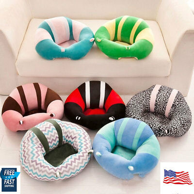 Baby Cotton Support Seat Soft Chair  Plush Pillow Pads Kids Diniing Safety Warm