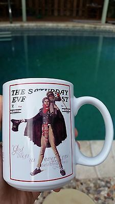 Norman Rockwell Mug The Saturday Evening Post 2002 Collection