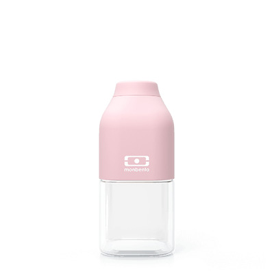 Monbento MB Positive S Litchi (Light Pink) - French Design. The 330ml Drink B...