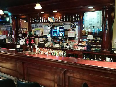 24ft amazing 140 year old Bar with back Al Capone used to hang out at