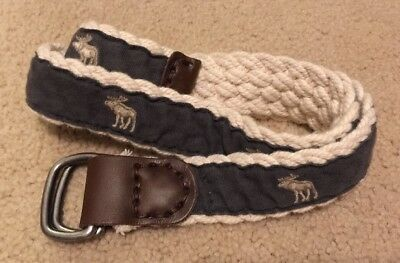 Abercrombie And Fitch Boys Belt