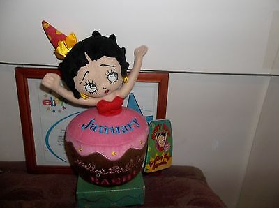 Betty Boopjanuary Birthday Bash Cupcake  New With Tags