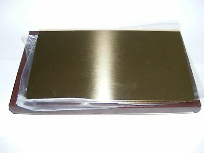 Checkbook Cover Solid Brass Made In The U.s.a.   New