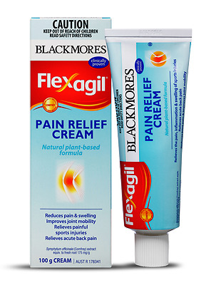 Blackmores Flexagil Pain Relief Cream 100g  * Pain Relief for muscle and joint *