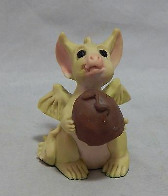 "Pocket Dragon Figurine 1993 Real Musgrave "" Want a Bite"""