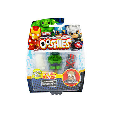 Marvel Ooshies 4 Pack - Assorted - NEW