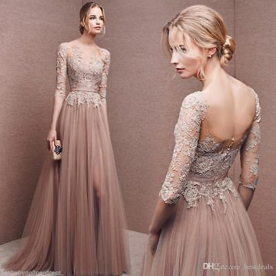 Long Evening Dress Formal Dresses Prom Gown Bridesmaid Party Cocktail Dress Ball