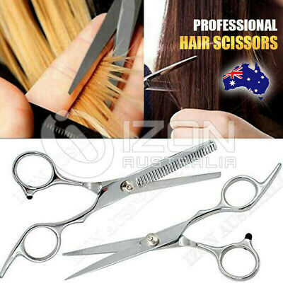 6'' Hair Cutting & Thinning Scissors Shears Set Professional Salon Hairdressing