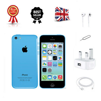 Smartphone Apple Iphone 5C 32Gb Blue (Unlocked) Sim Free New & Sealed