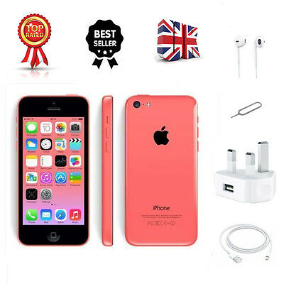Smartphone Apple Iphone 5C 32Gb Pink (Unlocked) Sim Free New & Sealed