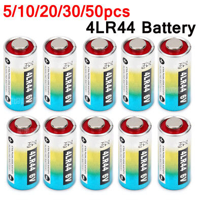 5-50x 6V BATTERY 4LR44 PX28A A544 476A L1325 V34PX CITRONELLA BARK DOG COLLAR