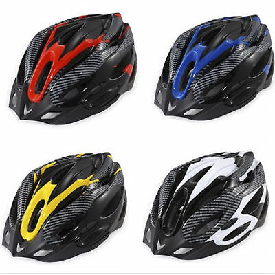 New Mountain Road Bike Racing Bicycle Cycling Helmet Visor Adjustable Carbon AU