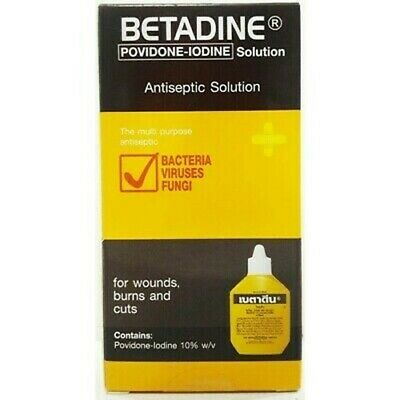 BETADINE 30ml LARGE POVIDONE IODINE FIRST AID ANTISEPTIC SOLUTION