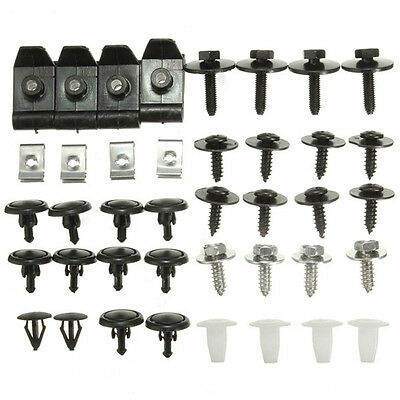 T25 Undertray Cover Clips Bottom Shield Guard Screws For Toyota Avensis NEW