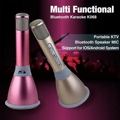 Q7/Q9/K088/K068 Wireless Bluetooth KTV Karaoke Microphone Singing Player Mic CF2