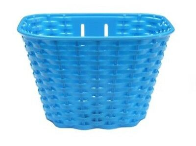 Brand new Girls Bike Basket Plastic Front Blue