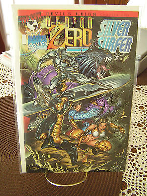 Weapon Zero Silver Surfer #1 Jan 1996 First Printing Nm