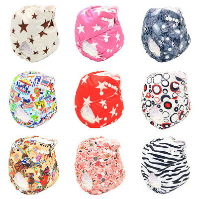 Modern Reusable Washable Baby Cloth Nappy Cloth Diapers & Insert Baby Nappy