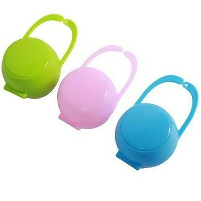 Baby Infant Kids Travel Soother Pacifier Dummy Storage Case Box Cover Holder