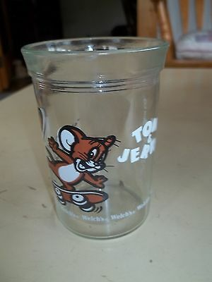 1990 Retro Turner Entertainment Tom & Jerry Welch's Skateboard Juice Glass