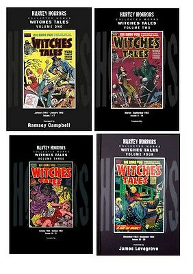 COMPLETE SET: 1950s horror comics WITCHES TALES (retail price £119.96)