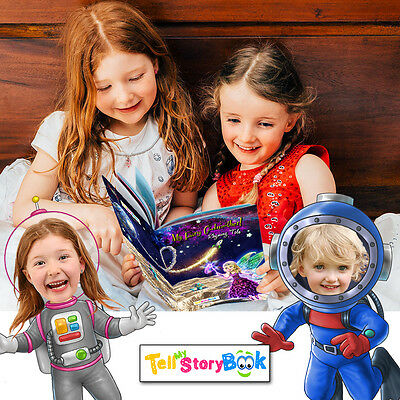"""Personalised Children's Books (using YOUR child's photo!) """"My Fairy Godmother"""""""
