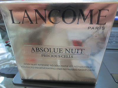 LANCOME ABSOLUE NUIT PRECIOUS CELLS 50ml NO TESTER!