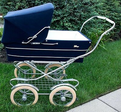 Vintage Perego Pram Carriage 1972