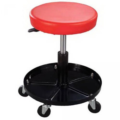 Mechanics Work Stool Adjustable Roll Swivel Creeper Seat Chair Garage Tool Shop