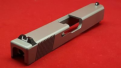 New Slide For Glock 9mm Gen3 G19 With Rear Serrations & Sight Cuts + Sights!