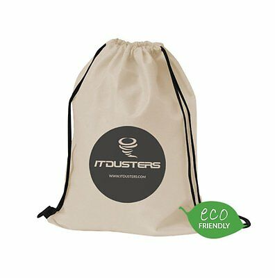 ITDusters CompuCleaner - Recycled Drawstring Carry Bag
