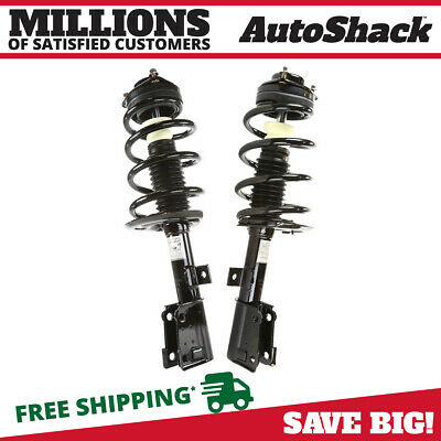 New Front Pair of Complete Strut Assemblies fits 09-13 Dodge Journey