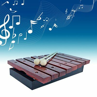 1pcs Kids Music Natural Wooden Tone Xylophone Percussion Musical Instrument LN