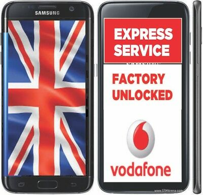 Samsung Vodafone Uk Unlock Factory Code Service Galaxy S7, S7 Edge