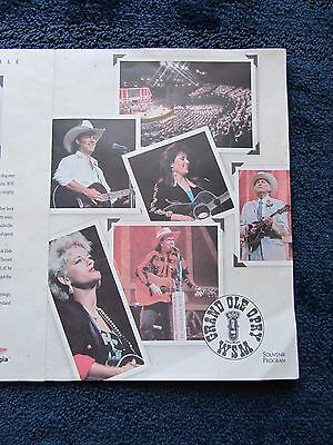 2 Grand Ole Opry Programs Dated September 17 & 18, 1993