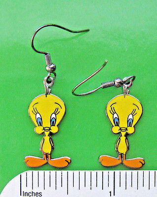 TWEETIE BIRD , Tweetie Bird   (classic pose) - Earrings , ear rings GIFT BOXED