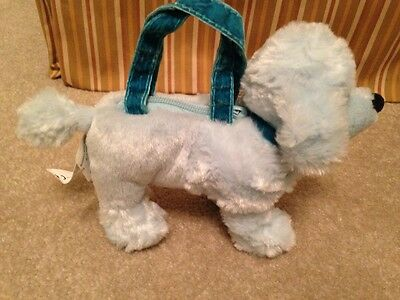 Gymboree My Best Friend Poodle Purse EUC