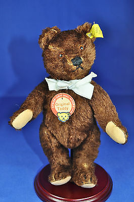 Steiff Original Teddy Bär, 5322, KFS / IDs, U.S. Zone Germany, 1950-1953, 22 cm