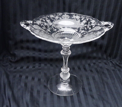 """Cambridge Rosepoint Compote 7 3/4"""""""