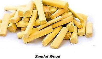 Pure Original  Raw Sandalwood Fingers from Mysore India Chandan Wooden Sticks