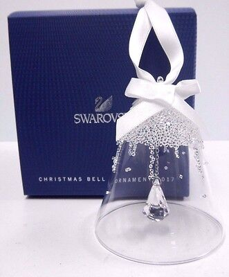 Large Bell Christmas Ornament, Annual Edition 2017 Swarovski Crystal   5241593