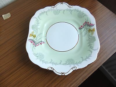 Vintage Aynsley Green Wayside Bread Plate  C1280 used but in ex cond