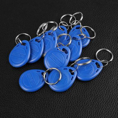 5/10/20/50/100PCS - 125Khz RFID Proximity ID Card Token Tags Key fobs Keyfobs