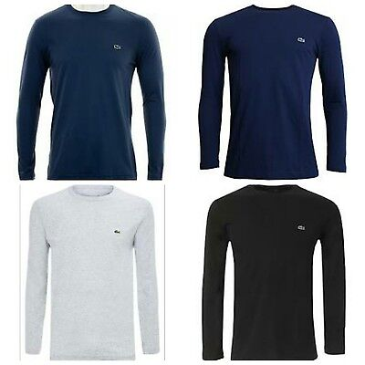 Lacoste Long Sleeve T-Shirt Regular Fit New With Tag (S,m,l,xl.xxl)