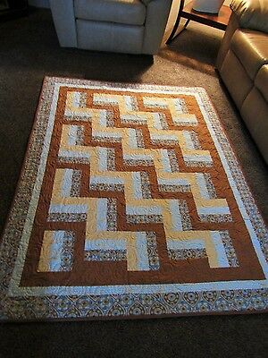 New Handmade  Quilt ~ Wall Hanging~ Lap Quilt~Fence Rail