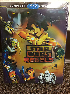 STAR WARS REBELS BLU-RAY COMPLETE SEASON 1 First Sealed New