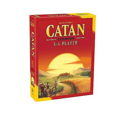 Catan Studio: (Settlers of) Catan - 5-6 Player board game extension 5th Ed (New)