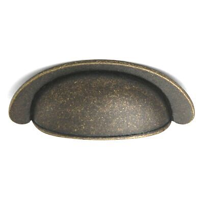 "PA1022-WOA Windover Antique 2 1/2""cc Cabinet Cup Pull Handles Hickory Oxford"