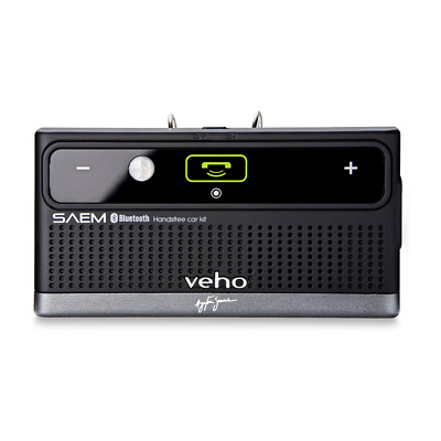 Veho SAEM S3 Ayrton Senna Bluetooth Car and Speaker Kit - Black